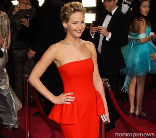 Дженнифер Лоуренс — самая стильная звезда по версии журнала Glamour