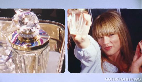 Тейлор Свифт в рекламном ролике своего аромата Taylor by Taylor Swift