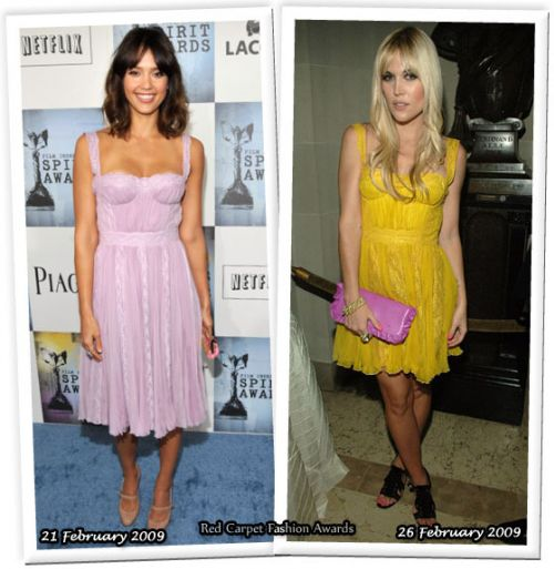 Fashion battle: Джессика Альба и Тинсли Монтимер