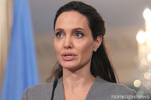 Анджелина Джоли выступила с речью о беженцах в Государственном департаменте США