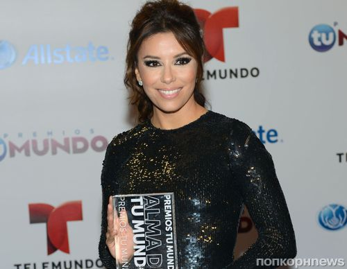 Ева Лонгория получила награду Telemundo