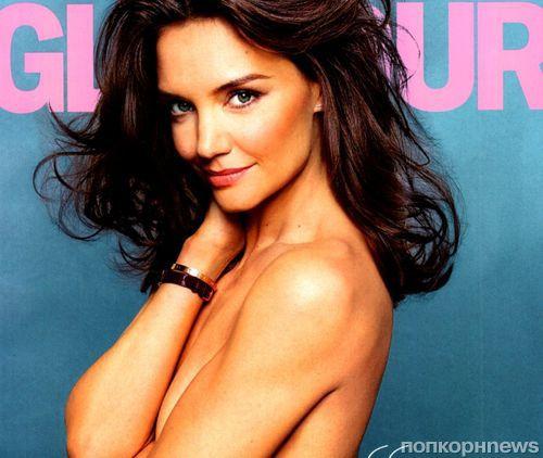 Кэти Холмс в журнале Glamour. Август 2014