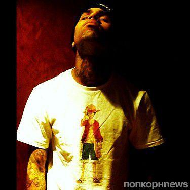 Новая татуировка Криса Брауна