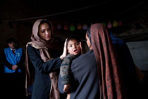 Анджелина Джоли променяла Лос-Анджелес на Афганистан