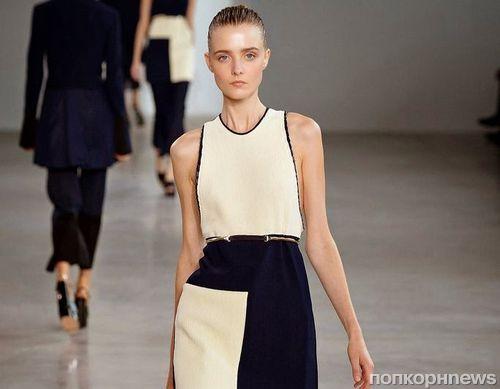 Модный показ новой коллкции Calvin Klein. Весна / лето 2015