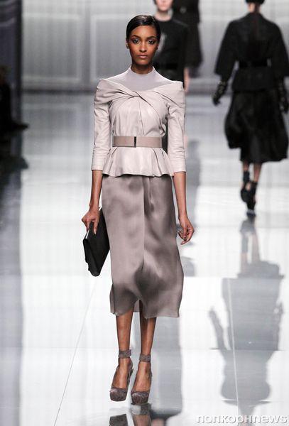 Модный показ Christian Dior. Осень / зима 2012-2013