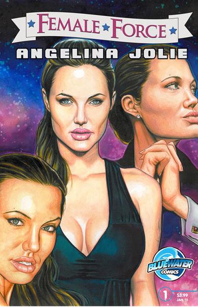 Анджелина Джоли станет героиней комикса