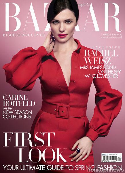 Рэйчел Вайс в журнале Harper's Bazaar Великобритания. Март 2013