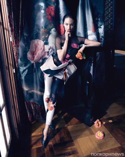 Кэндис Свейнпол в рекламной кампании Blumarine. Осень 2013