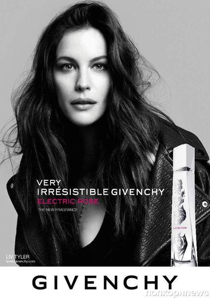 Лив Тайлер в рекламной кампании аромата Very Irrésistible Givenchy Electric Rose