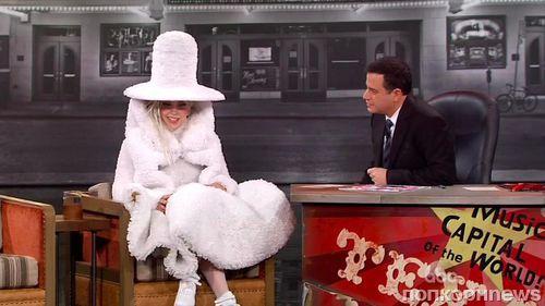 Lady GaGa на шоу Джимми Киммела