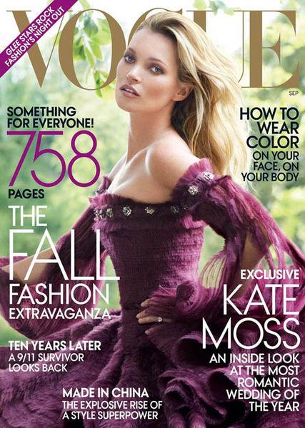 Свадьба Кейт Мосс глазами Vogue