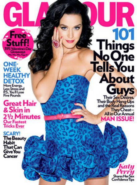 Кэти Перри в журнале Glamour US. Февраль 2010