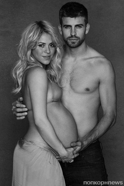 Беременная Шакира и Жерар Пике в благотворительной кампании ЮНИСЕФ