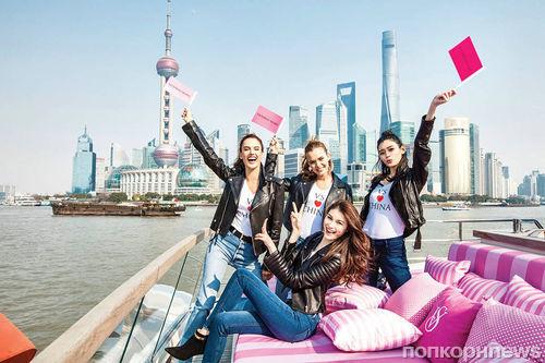Ежегодный модный показ Victoria's Secret пройдет в Шанхае