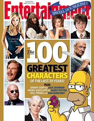 MTV: В cписок величайших персонажей за последние 20 лет попал и Эдвард Каллен