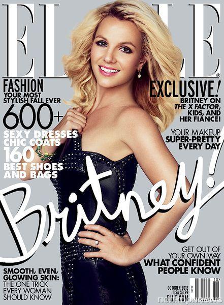 Бритни Спирс в журнале Elle. Октябрь 2012