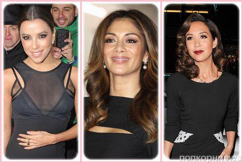 Модный макияж под черное платье: фото стильных идей от голливудских звезд