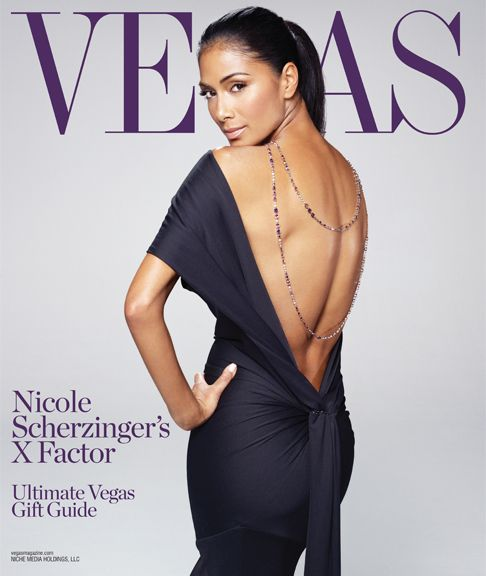 Николь Шерзингер на обложке журнала Vegas. Ноябрь 2011