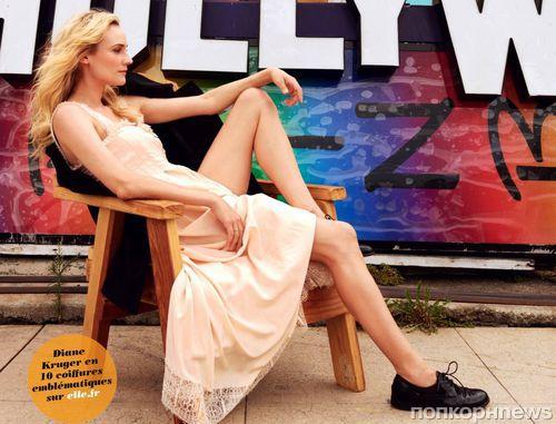 Диана Крюгер в журнале Elle Франция. Сентябрь 2013