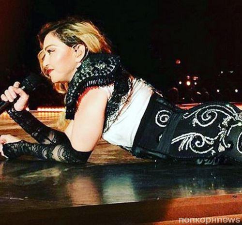 Мадонна шокировала зрителей своим пьяным выступлением