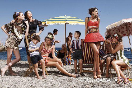 Рекламная кампания  Dolce&Gabbana Весна / Лето 2013