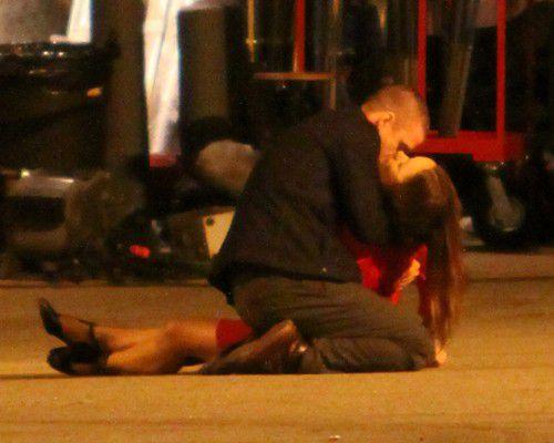 Страстный поцелуй Джастина Тимберлейка и Оливии Уайлд