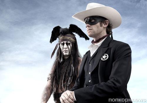 Видео: Падение Джонни Деппа с лошади на съемках