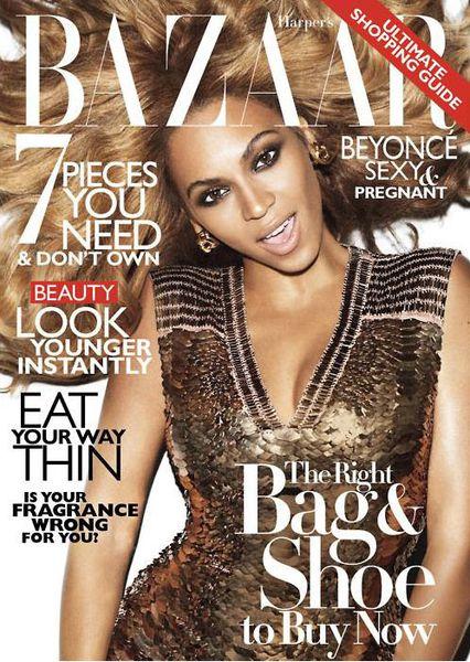 Бейонсе в журнале Harper's Bazaar US. Ноябрь 2011