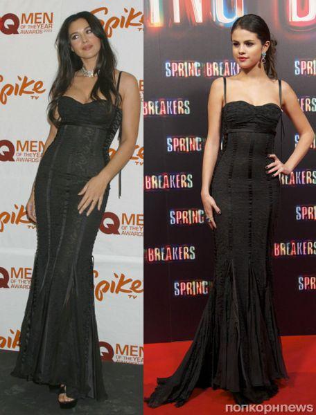 Fashion battle: Моника Беллуччи и Селена Гомес