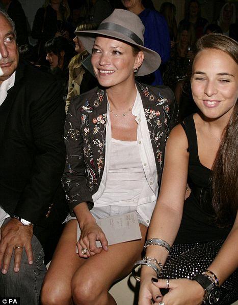 Кейт Мосс помогает дочери миллионера стать дизайнером