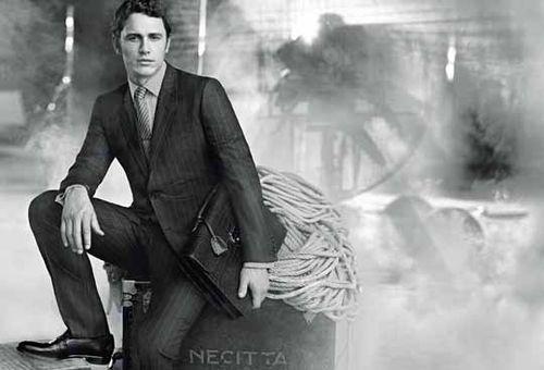Джеймс Франко в рекламе новой услуги Gucci «костюм на заказ»