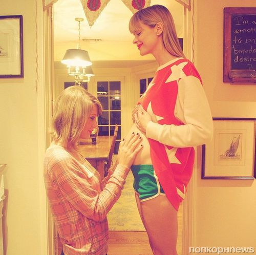 Тейлор Свифт станет крестной мамой ребенка Джейми Кинг
