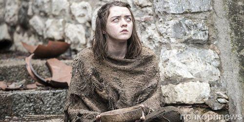 Ослепшая Арья учится драться в новом видео из 6 сезона «Игры престолов»