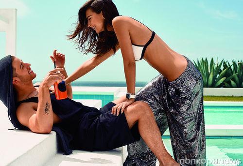 Ник Джонас и Эмили Ратажковски в фотосессии для Glamour