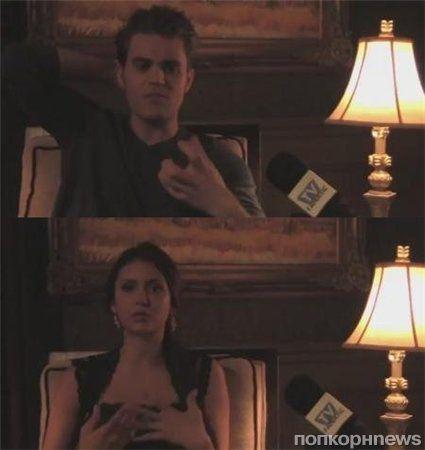 Пол Уэсли и Нина Добрев рассказали о новом сезоне «Дневников вампира»