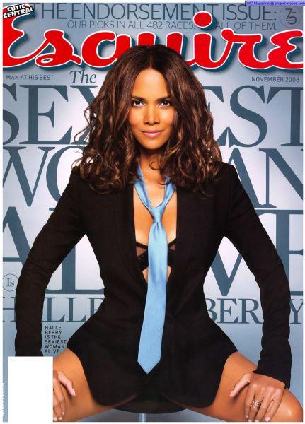 Халли Берри в журнале Esquire. Ноябрь 2008