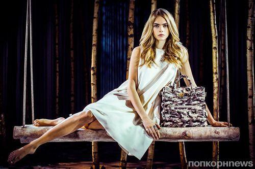 Кара Делевинь создала сумку для Mulberry