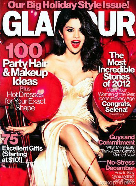 Селена Гомес в журнале Glamour. Декабрь 2012