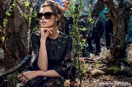 Бьянка Балти в рекламной кампании очков Dolce&Gabbana