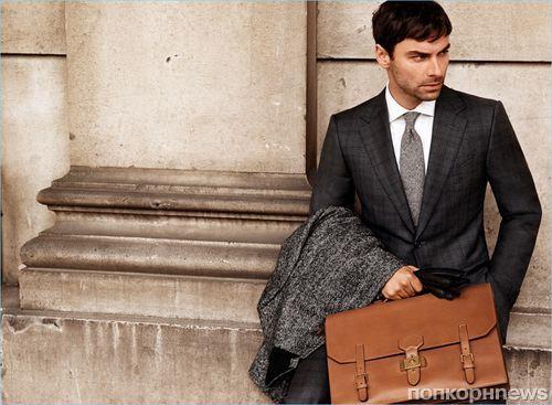 Звезда «Хоббита» и «Полдарка» Эйдан Тернер снялся в рекламной кампании бренда Dunhill