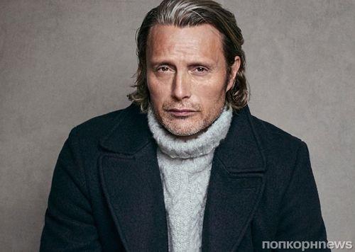 Мадс Миккельсен снялся в рекламе новой коллекции модного бренда Marc O'Polo