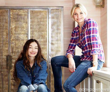 Камерон Диаз и ее дом в журнале Elle Decor. Октябрь 2013
