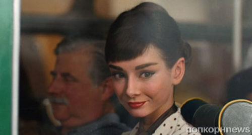 Ожившая и прекрасная Одри Хепберн в рекламе шоколада Galaxy
