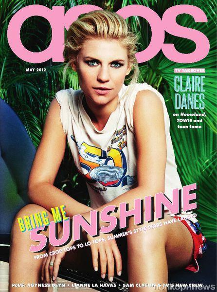 Клэр Дэйнс в журнале ASOS. Май 2012