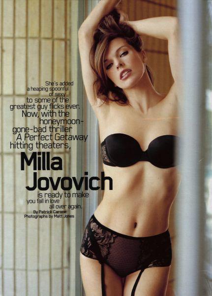 Милла Йовович в журнале Maxim. Сентябрь 2009