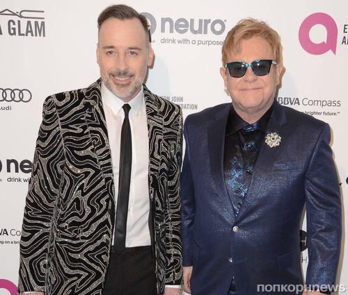 Звезды на вечеринке Элтона Джона в честь премии «Оскар»