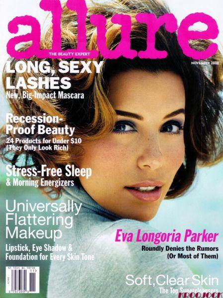 Ева Лонгория в журнале Allure. Ноябрь 2008