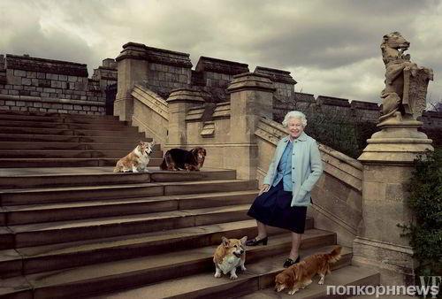 Королева Елизавета II появилась на обложке Vanity Fair