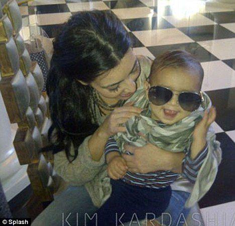 Ким Кардашиан и ее стильный племянник